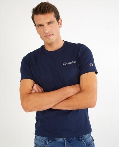 Blauw T-shirt Champion