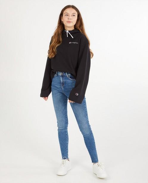 Zwarte hoodie Champion - custom fit - Champion