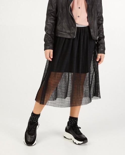 Rokken - Zwarte rok met stippen