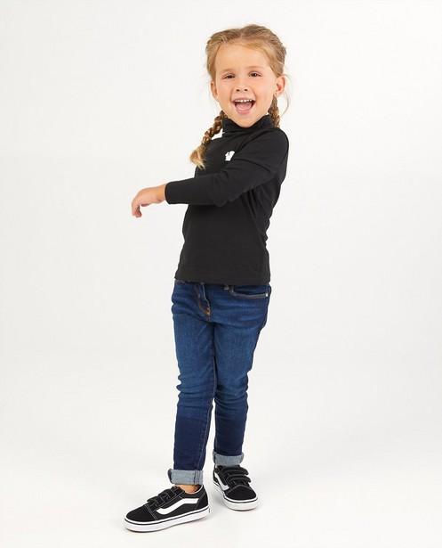 Donkerblauwe skinny Marie, 2-7 jaar - met wassing - JBC
