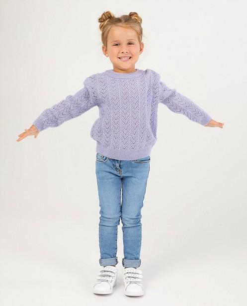 Skinny bleu clair Marie, 2-7 ans - effet délavé - JBC