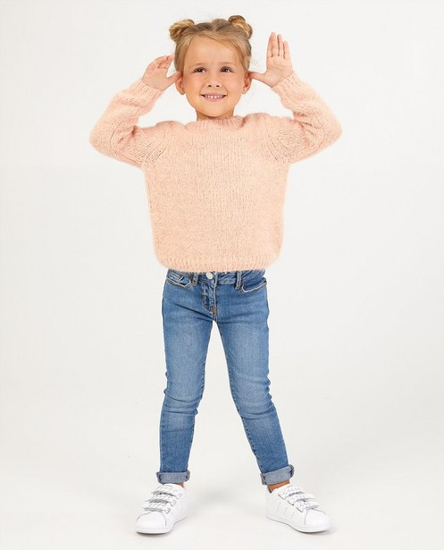 Skinny bleu Marie, 2-7 ans - effet délavé - JBC