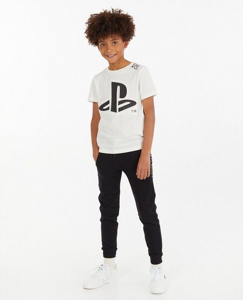 Wit T-shirt met print PlayStation - 3D-effect - Playstation
