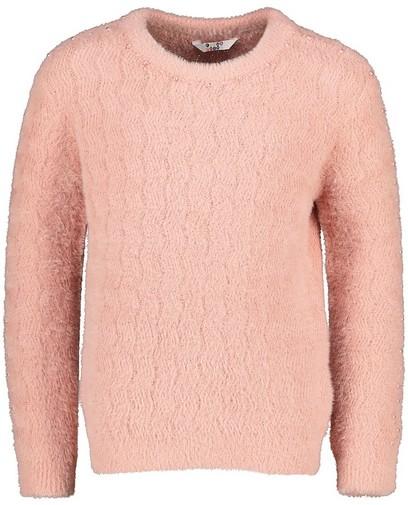 Roze trui met pareltjes