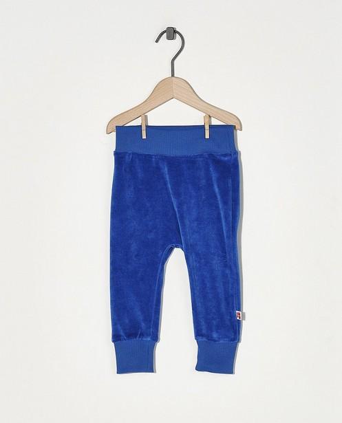 Pantalon de jogging bleu Froy & Dind - en velours - Froy en Dind