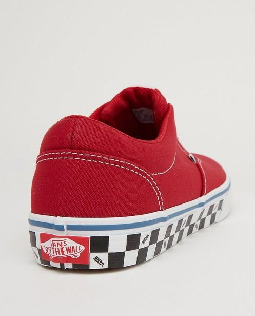 Schoenen - Rode sneakers Vans, maat 33-39
