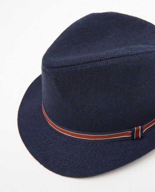 Bonneterie - Blauwe hoed