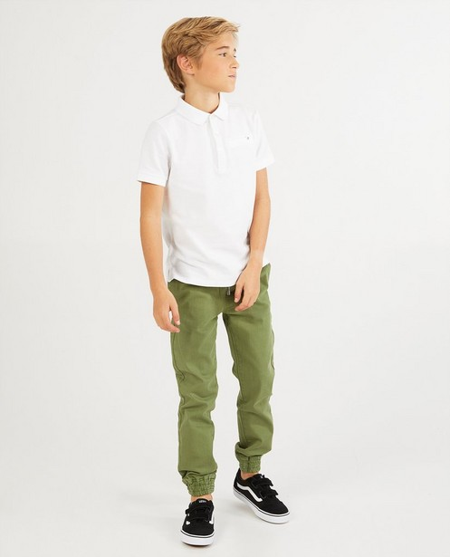 Pantalon vert BESTies, 7-14 ans - uni - Besties