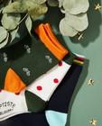 Chaussettes - 3 paires de chaussettes Baptiste, pointures39-46