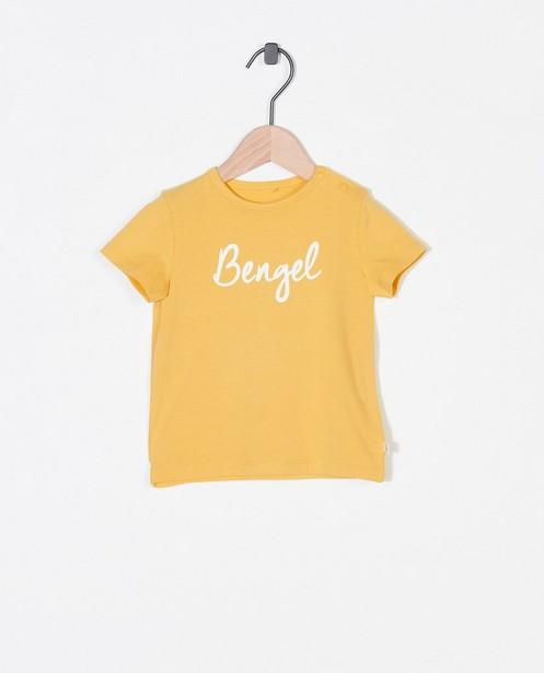 T-shirt en coton bio à inscription (NL) - stretch - Cuddles and Smiles