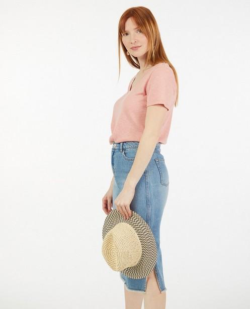 T-shirt rose Sora - à paillettes - Sora