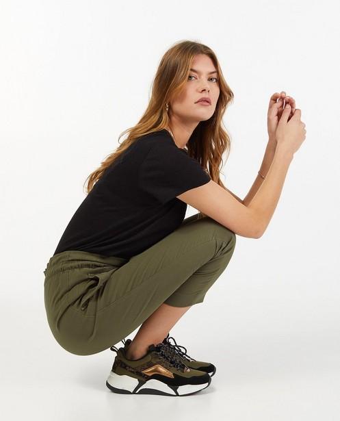 T-shirt noir Sora - à paillettes - Sora