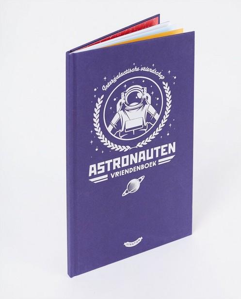 Vriendenboek - Stratier - astronauten - Stratier