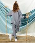 Pantalons - Pantalon gris à imprimé Communion