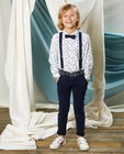 Pantalon bleu slim fit Communion - bleu uni - Kidz Nation