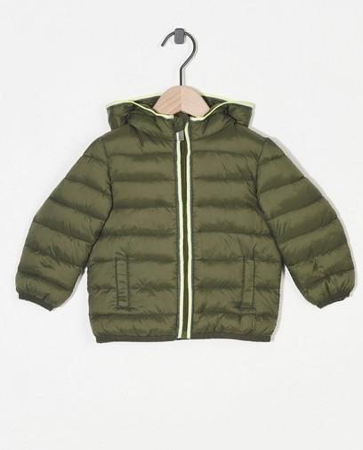 100% gerecycleerde jas