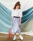Wit hemdje met steentjes Communie - en pailletten - Milla Star