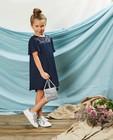 Blauwe jurk met pailletten Communie - tweelalig - Milla Star