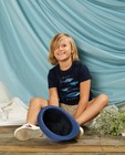 T-shirts - T-shirt bleu à imprimé Communion