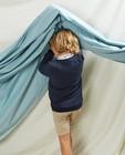Sweats - Sweat bleu avec pochette Communion