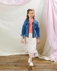 Blazers - Veste en jeans à petites fleurs Communion