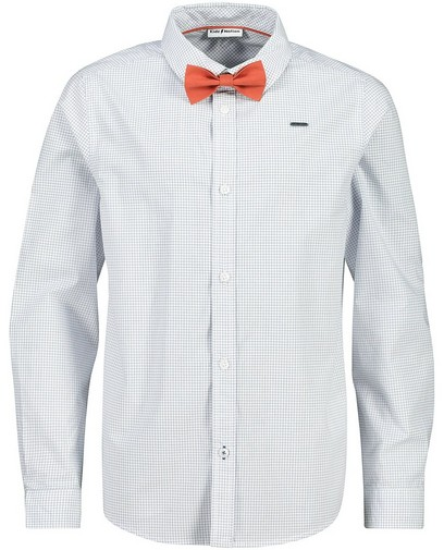 Wit hemd met strikje Communie