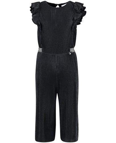 Blauw jumpsuit met plissé Communie