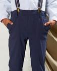 Broeken - Blauwe broek met stippen Communie