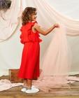 Robes - Robe rouge plissée Communion