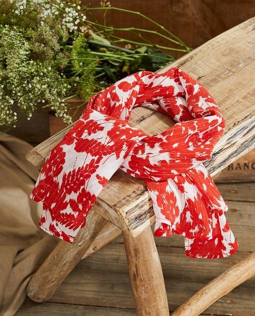 Foulard rouge et blanc à imprimé Sora - à imprimé fleuri - JBC
