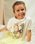 T-shirts - T-shirt écru à imprimé Communion