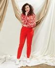 Rode geklede broek Sora - communie - Sora