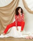 Pantalons - Pantalon rouge habillé Sora