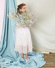 Kleedjes - Witte jurk met print Communie