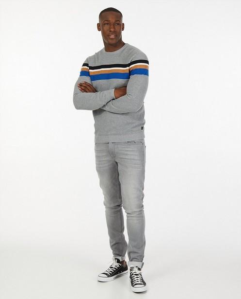 Skinny gris clair Jimmy - stretch - Quarterback