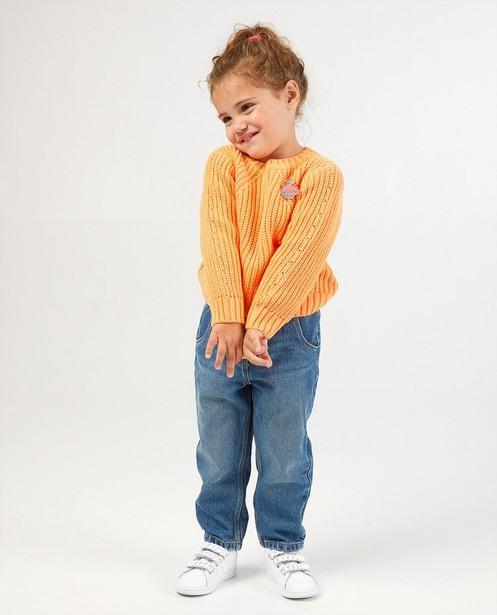 Pull orange - en tricot - Milla Star