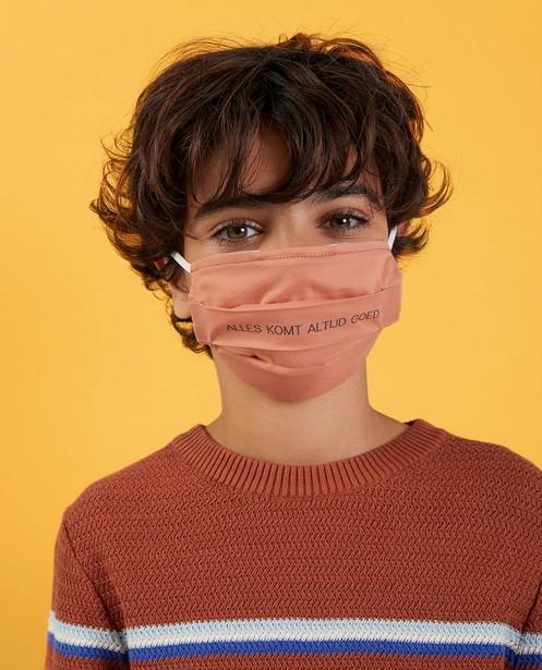 Set van 2 mondmaskers Studio Unique - personaliseerbaar - JBC