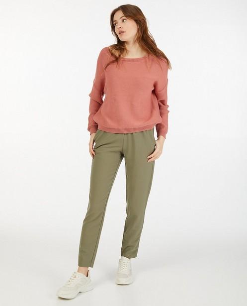 Pantalon kaki Sora - à élastique - Sora