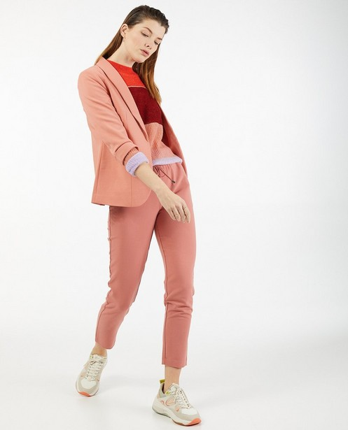 Pantalon rose Sora - à élastique - Sora