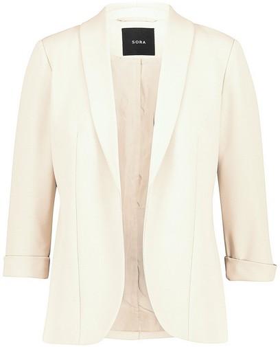 Witte blazer Sora