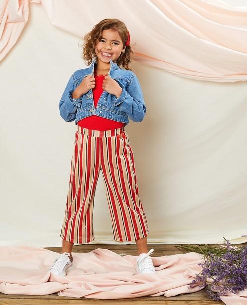 Pantalon rayé Communion - avec fil métallisé - Milla Star
