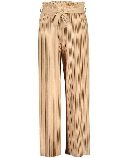 Pantalon beige plissé Communion
