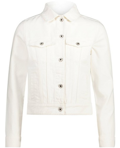 Veste blanche en jeans Sora
