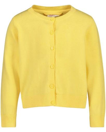 Cardigan jaune avec paillettes BESTies