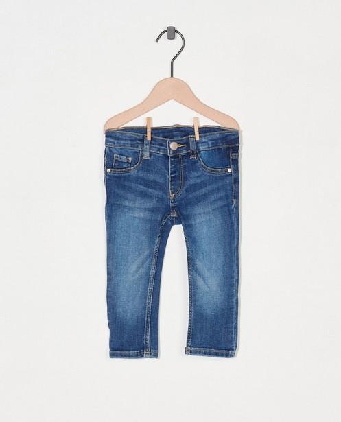 Blauwe jeansbroek - met wassing - Cuddles and Smiles
