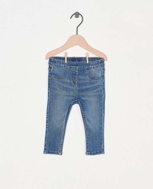 Blauwe jeansbroek - stretch - Besties
