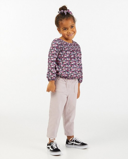 Pantalon lilas à coupe ample - stretch - Milla Star