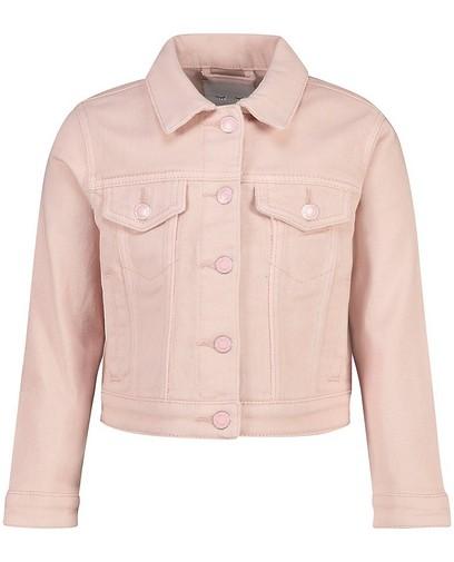 Roze jeansjasje