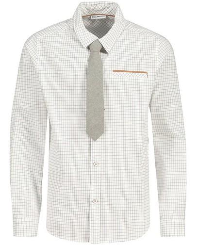 Wit hemd met stropdas Communie