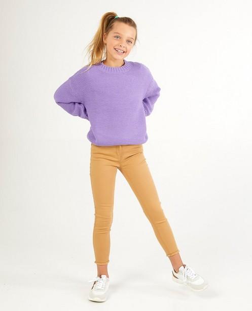 Pull lilas BESTies - en tricot - Besties